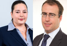 James GRINDLEY, CEO, CertAsig<br><br>Andreea TIGAU, Chief Liability Underwriter, CertAsig