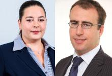 James GRINDLEY, CEO, CertAsig<br><br>Andreea TIGAU, Chief Liability Underwriter, CertAsig