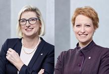 Elisabeth STADLER, CEO, VIENNA Insurance Group<br><br>Judit HAVASI, Member of the Managing Board, VIENNA Insurance Group
