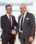 Remi VRIGNAUD, Head of CEO Office ALLIANZ SE<br><br>Virgil SONCUTEAN, CEO ALLIANZ TIRIAC Asigurari