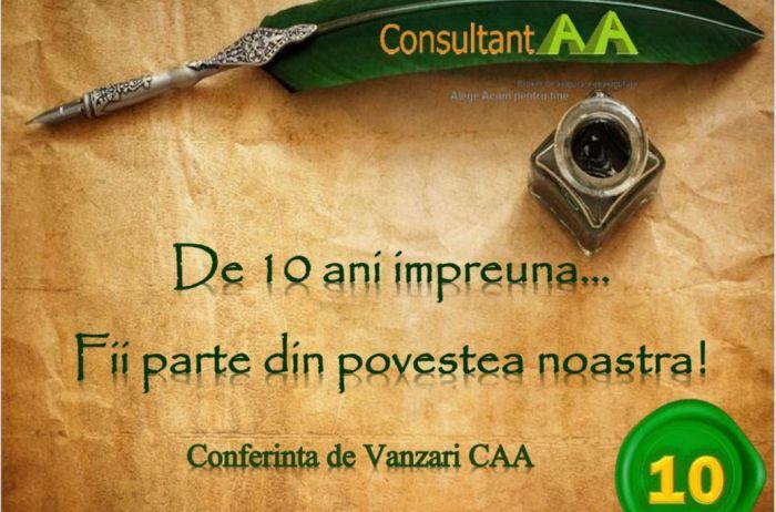 CONSULTANT AA organizeaza un ...