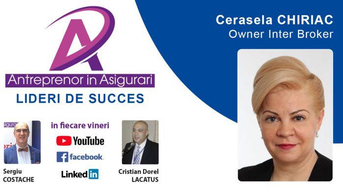 <span style='color:#be1831'>VIDEO: </span> Antreprenor in Asigurari, cu Cerasela CHIRIAC - INTER Broker