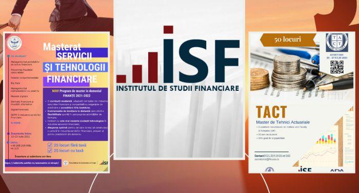 ISF sustine doua programe de ...