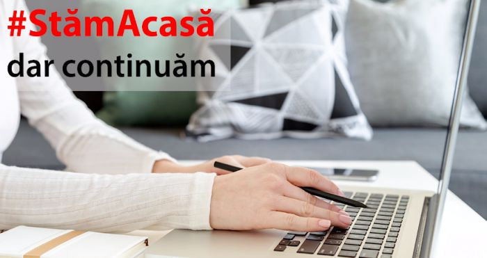 VIDEO: #StamAcasa, dar continuam - ...